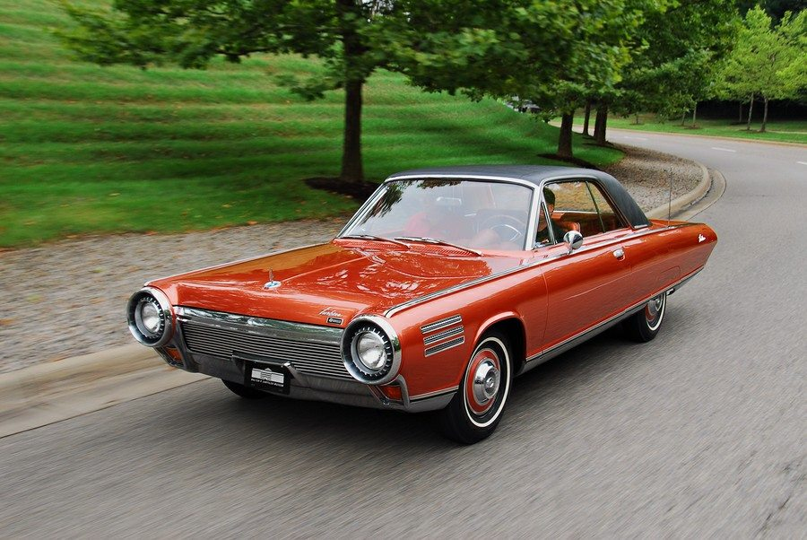 Muscle Car Collection 1964 Chrysler Turbine Car Kicked Off The