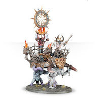 Warhammer Age of Sigmar chaos alliance Warshrine painted