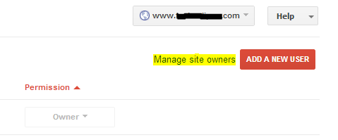 Manage site owners