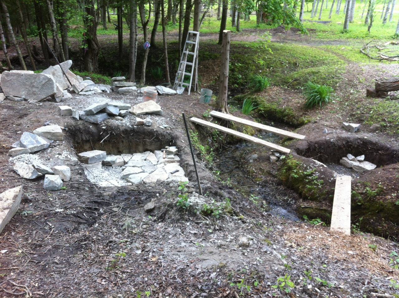 Building A Dry Stone Bridge Part 6