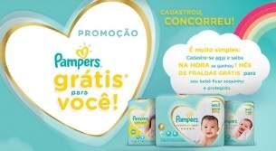 Promoção Pampers 2019 Grátis Pra Você 1 Mês Fraldas