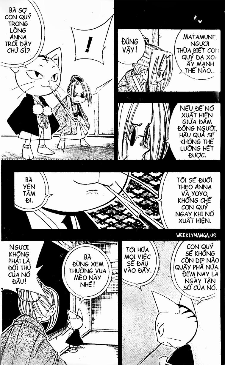 Shaman King [Vua pháp thuật] chap 171 trang 9