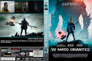 CARATULA I Kill Giants - YO MATO GIGANTES 2017