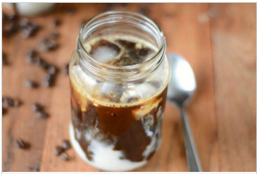Iced Coffee With Coconut Milk