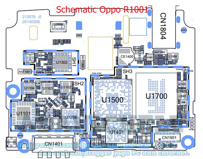 Skema Mesin Oppo A37f | Diagram