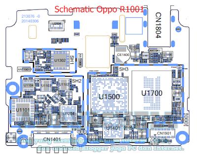 Schematic Oppo R1001