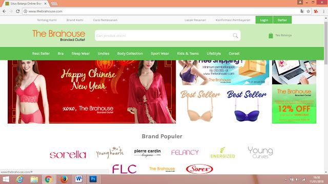 toko online pakaian dalam