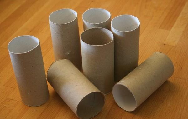 Dicas super criativas para reutilizar tubos de papel higiénico