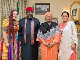 Photo: Mrs Aisha Buhari appointed the Grand Patron of the Rochas Foundation College of Africa