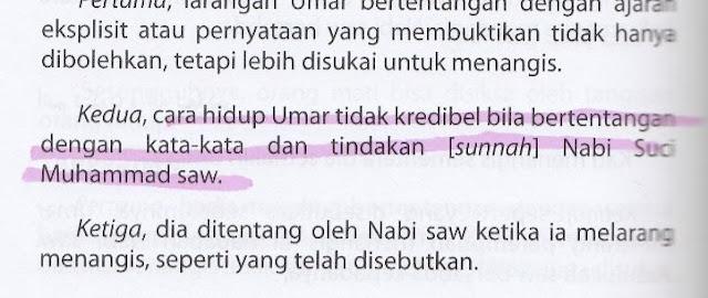 Syiah Menuduh Hidup Umar RA tidak Kredibel dan Bertentangan dengan Sunnah Nabi saw
