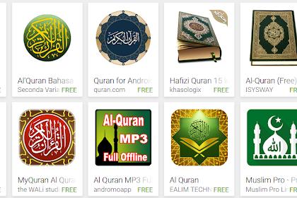 10 Aplikasi Al Quran Android di Playstore