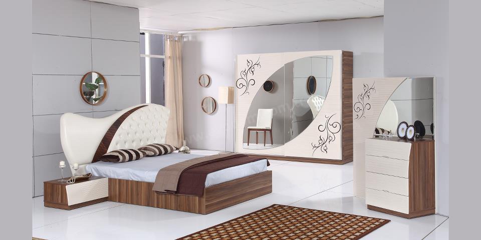 غرف نوم مودرن كاملة بالدولاب موسوعة