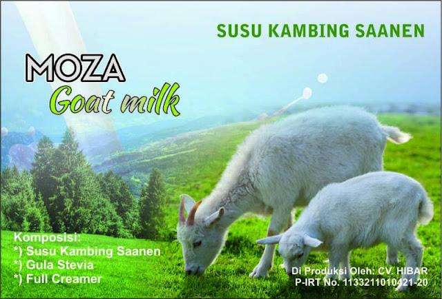 Susu Kambing Saanen - MOZA GOAT MILK