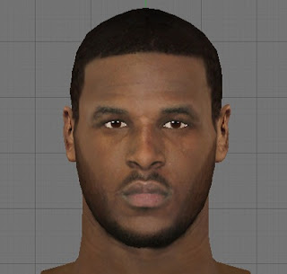 NBA2K13 PC Dion Waiters Cyber Face Patch