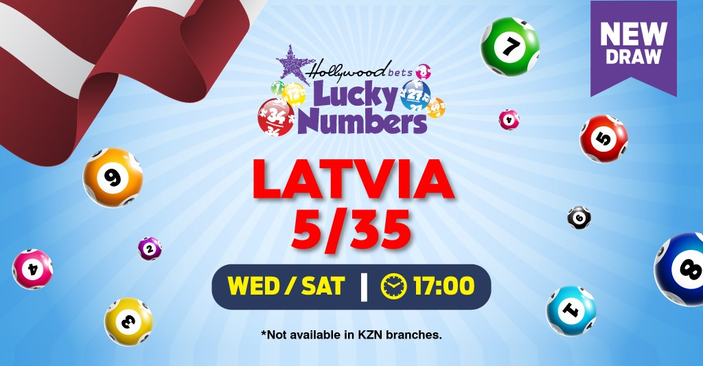 Latvia 5/35 Lotto - Lucky Numbers - Hollywoodbets