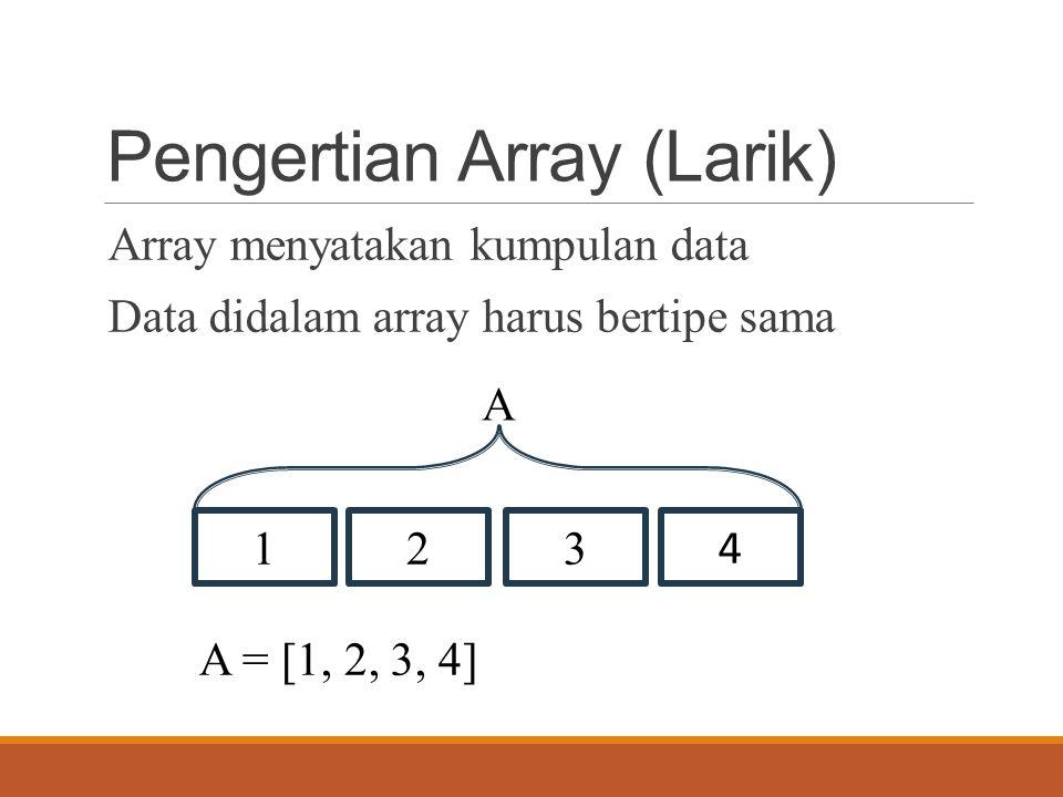 Algoritma Menghitung Nilai Rata Rata Suatu Array Larik Blog