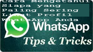 Cara Mengetahui Siapa yang Paling Sering Lihat Profil WhatsApp Anda 1