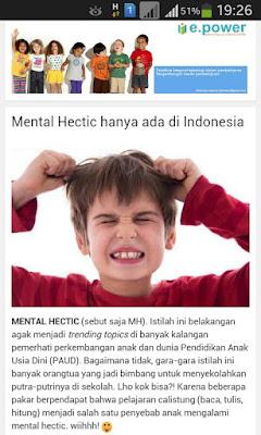 Ajarkan Calistung di PAUD Akibatkan Anak Mental Hectic