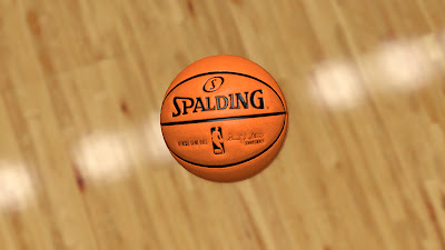 NBA 2K13 Official NBA Spalding Basketball Mod