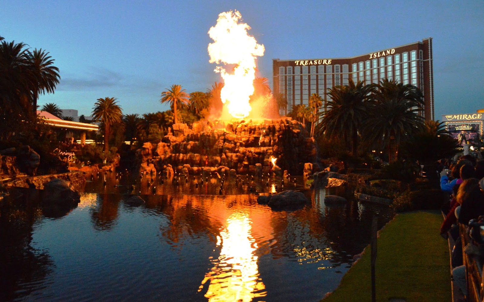 Volcano Las Vegas The Mirage