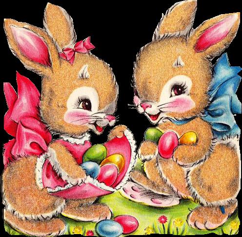 Dibujos de conejos y patitos para decorar en pascuas png - Modelli di coniglietto pasquale gratis ...