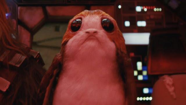 Porg dans Star Wars 8
