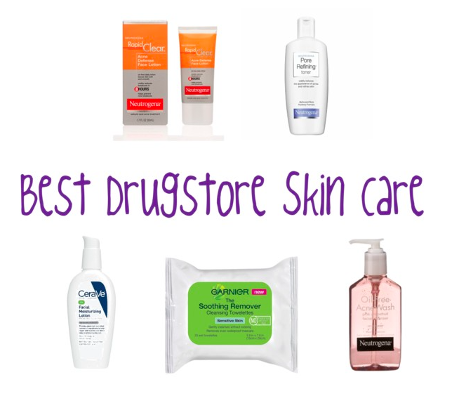 Best Skin Care Products: Best Drugstore Skin Care Products