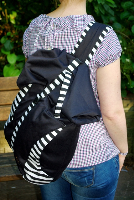 Rucksack Beach Bag von The Crafting Café