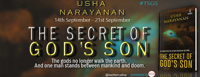 Banner - THE SECRET OF GOD'S SON by Usha Narayanan