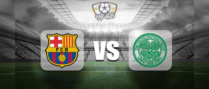 مباراة برشلونة وسيلتك بث مباشر