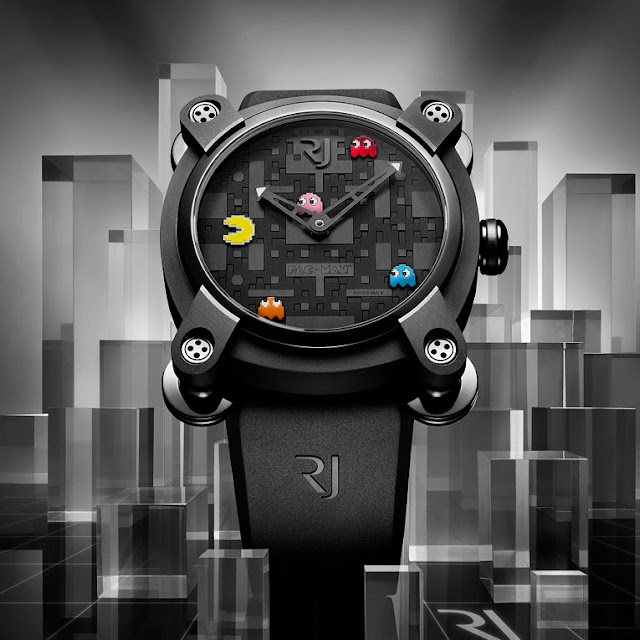 Romain Jerome RJ - Pac-Man Fever Watch ghosts