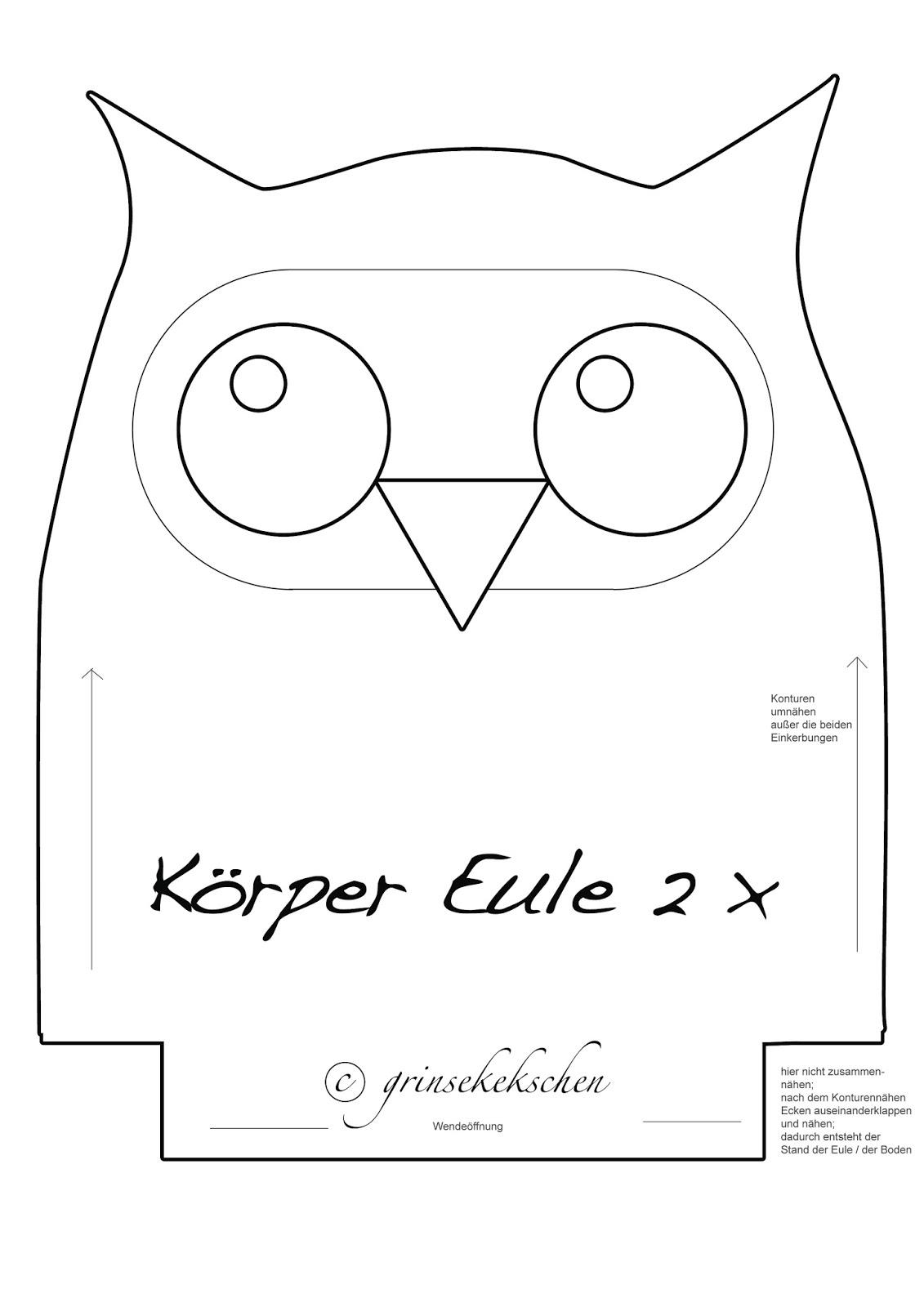 Wunderbar Eule Kissen Vorlage Zeitgenössisch - Entry Level Resume ...