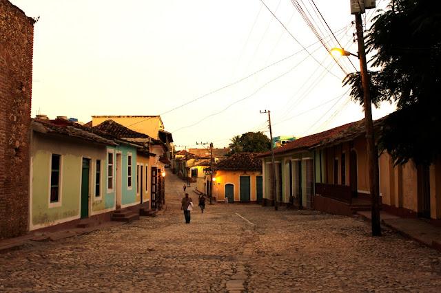 Trinidad al atardecer (Cuba)