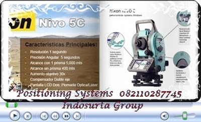 total station nikon-nivo-3c-5c.Produk PT INDOSURTA