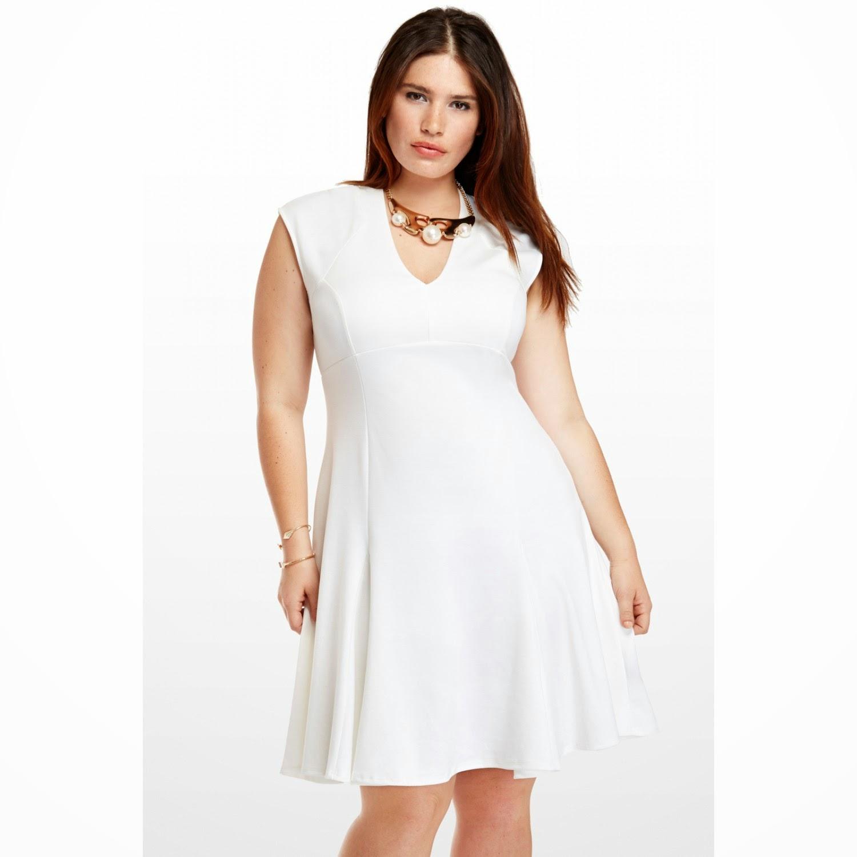 Imagenes de vestidos blancos para gorditas