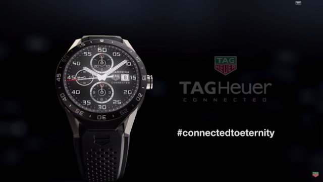 Smartwatch Tag Heur Connected