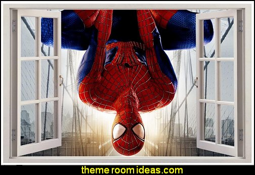Spiderman 3D Window Decal Wall Sticker Home Decor Art Mural