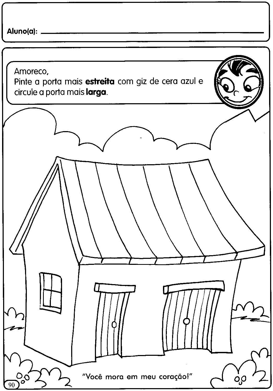 atividades para a educação infantil a casa moradia espaÇo educar