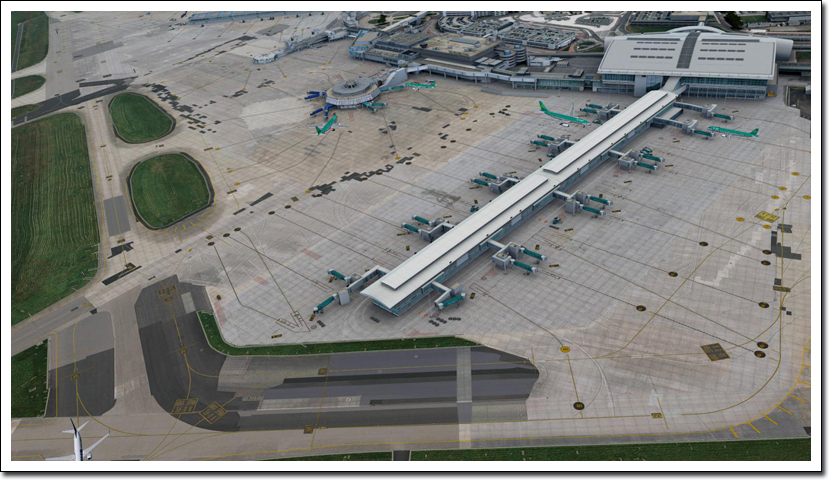 Download Scenery Aerosoft Dublin X (EIDW) #FSX