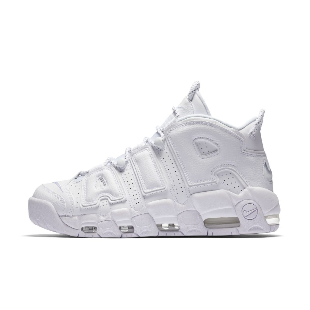 cf3d3b60d8de Nike Air More Uptempo in Triple White