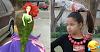 21 penteados criativos, divertidos e engraçados para fazer nas crianças