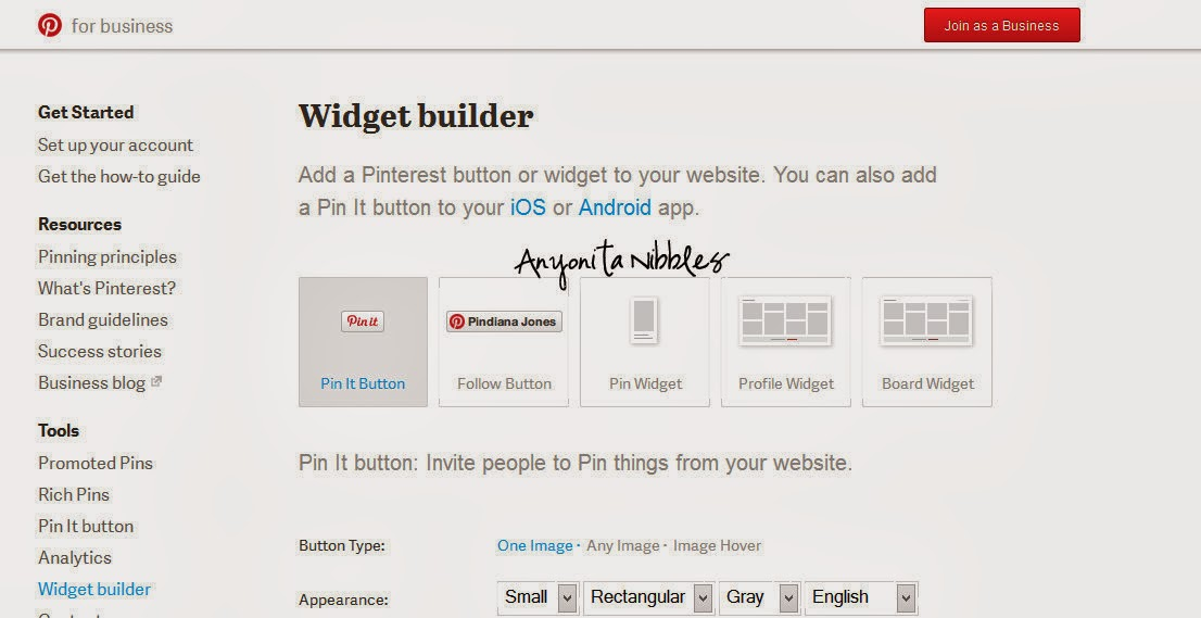 Embed Pinterest Boards into Blog Posts Step 4