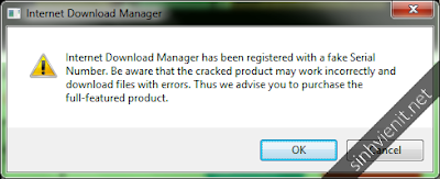 """Internet Download Manager has been registered with a fake Serial Number or the Serial Number has been blocked. IDM is exiting..."" the fears of many people. Don't worry Crack IDM new version will fix the error with one click."