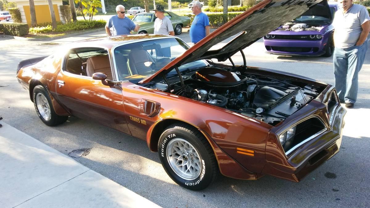 1978 Pontiac Trans Am in Chesterfield Brown - 73k Original ...