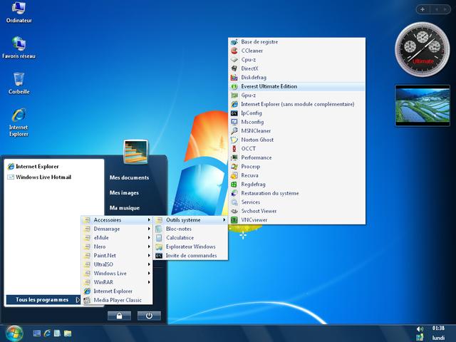 ������ �������� ������� ��������� Windows XP Ultimate 8.1 FR