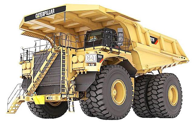 Mobil sebesar rumah,haul truk,haul truck,