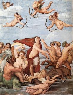 Gli affreschi di Raffaello in VILLA FARNESINA