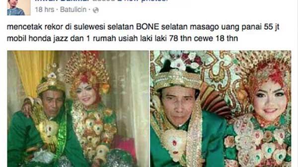 Kakek Nasir yang menikahi gadis 18 tahun kini dipenjara, istrinya minta cerai