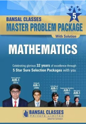Bansal classes iitjee master package maths pdf