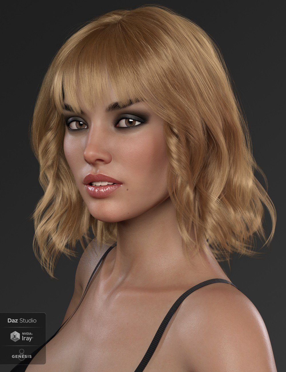 Download DAZ Studio 3 for FREE!: DAZ 3D - Taylor Hair For